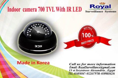 كاميرات مراقبة داخلية كورية700  TVL برؤية ليلية
