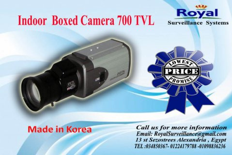 كاميرات مراقبة داخلية بجودة ممتازة700  TVL