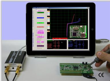 اقوي اجهزة اصلاح وتحديد اعطال الكروت والمكونات الالكترونية
