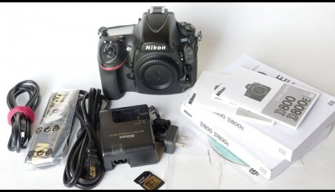 Nikon D800 36.3 MP DSLR Camera - Body