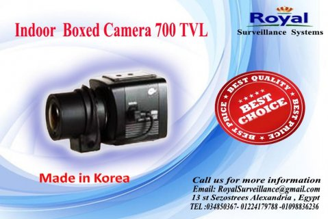 كاميرات مراقبة صندوقية 700  TVL   عالية الجودة