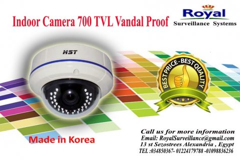 كاميرات مراقبة داخلية  700 TVL  معالجة ضد العوامل الجوية