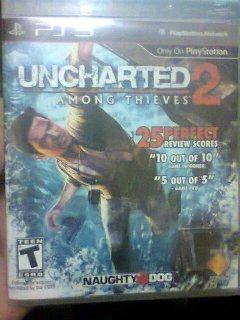 uncharted 2 اصلية جديدةلم تستعمل لعبة