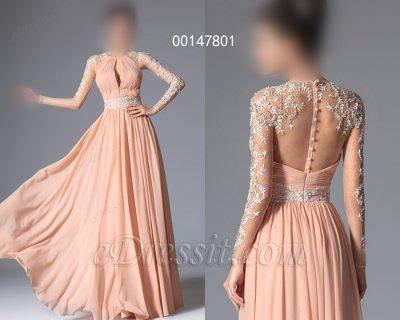 فستان أنيق بالخرزات للبيع