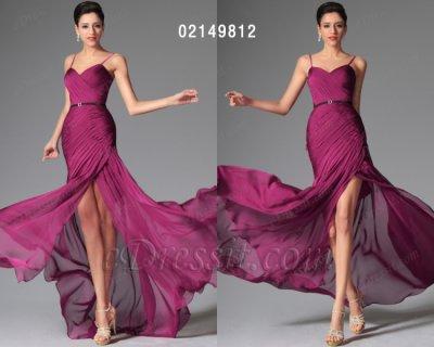 فستان ارجواني طويل للبيع eDressit