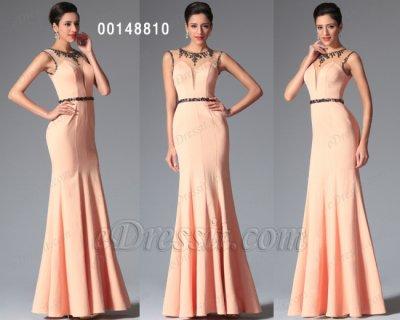 فستان بالخرزات للبيع