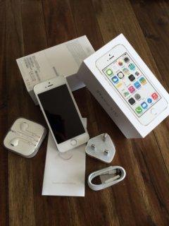 العلامة التجارية الجديدة ابل اي فون 64GB أبيض مفتوح 5S
