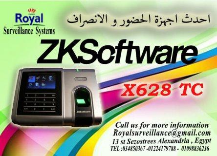 ماكينة حضور والانصراف بالبصمة و الكارت X628 TC