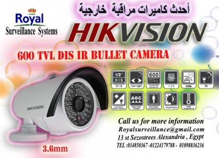 كاميرات مراقبة خارجية 600TVL  للمصانع رؤية ليلية حتى 20 متر مارك