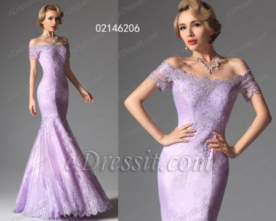 فستان أرجواني جديد للبيع