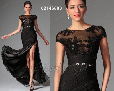 فستان أسود أنيق للبيع eDressit