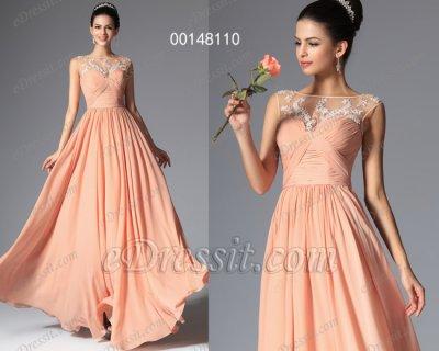 فستان برتقالي أنيق للبيع