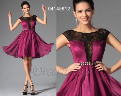 فستان أحمر قصير للبيع