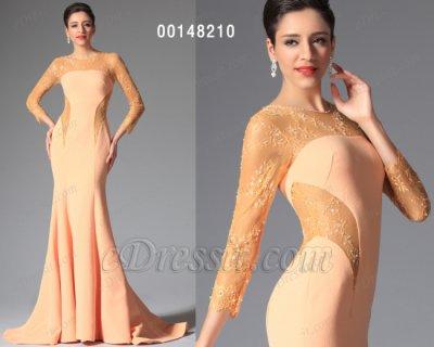 فستان أصفر محجب للبيع