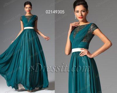 فستان أزرق قاتم للبيع