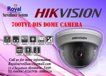 كاميرات مراقبة داخلية  700 TVL بأعلى درجات وضوح الصورة ماركة HIK