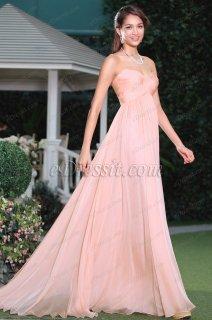 فستان سهرة وردي للبيع