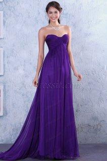 فستان سهرة أرجواني لليبع