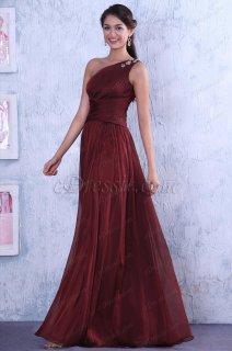 فستان أحمر بواحد الكتف للبيع
