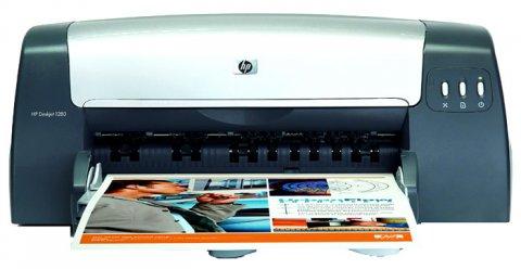 طابعه   HP 1280  ألوان  ورق A3\\ A4  بسعر هايل