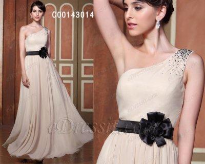 فستان شمباني للبيع