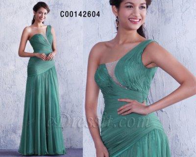 فستان أخضر مثير للبيع