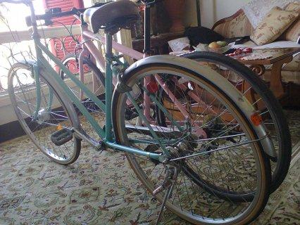 دراجه سباق شفروليه امريكى ودراجه يبانى 3سرعات