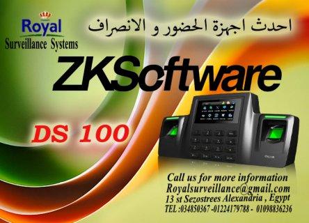 ماكينة حضور والانصراف بالبصمة و الكارت DS100