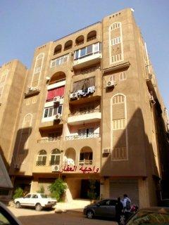 للتمليك شقة 130 م نصف تشطيب بعمارات الاسلكى المعادى
