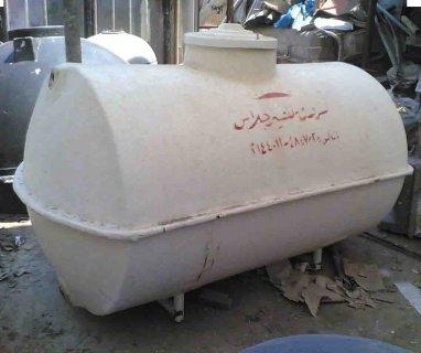 خزانات فيبرجلاس مقاومة للاحماض والحريق خزانات مياه الشروق