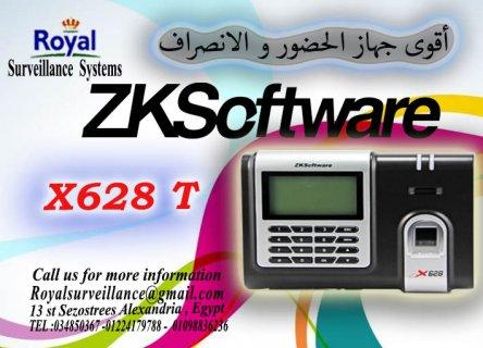 ماكينة الحضور والانصراف بالبصمة و الكارت للشركات X628 T