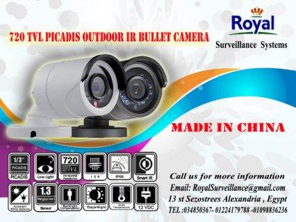 كاميرات مراقبة خارجية 720 TVL مقاومة للعوامل الجوية