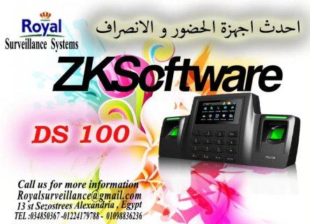 ماكينة حضور والانصراف بالبصمة و الكارت للشركات DS100