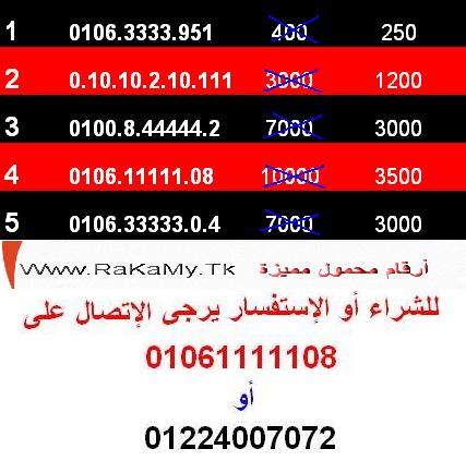 للتصفيات لظروف الهجرة أخر 6 أرقام  مصرية