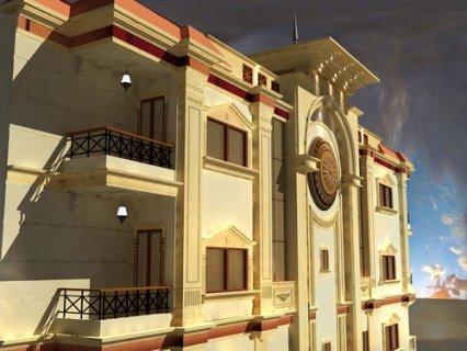 شقة للبيع ببرج سويس بلاس وابور المياه الاسكندرية