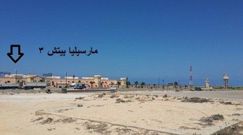 شاليه للبيع 75 م. قرية ماريمبا الساحل الشمالى الكيلو 71 أمام مار