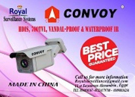 كاميرات مراقبة خارجية 700 TVL  ماركة CONVOY