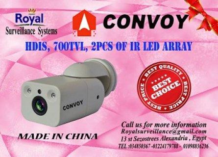 كاميرات مراقبة خارجية 700 TVL  ماركة CONVOY Vandal-proof