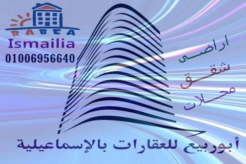 شقق للايجار فى الاسماعيلية مكتب ابو ربيع للعقارات 01006956640