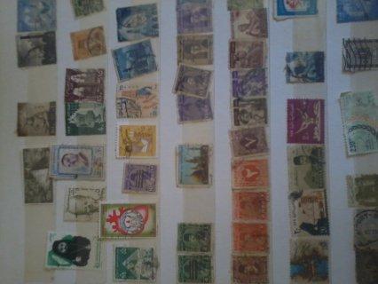 مجموعة طوابع قديمة