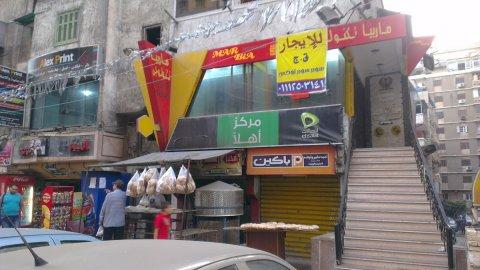 فرصه للايجار 40 م على شارع مسجد سيدى بشر الرئيسى