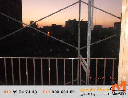 شقة للبيع فى شبين الكوم البر الشرقى 150 م تطل علي البحر