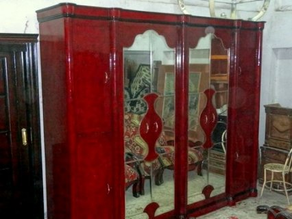 غرفة نوم مودرن استعمال راقى تصلح لعروسين  +