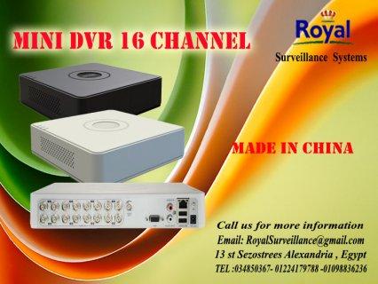 أجهزة تسجيل MINI DVR 16 channel