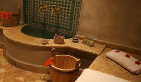 حمام مغربى بطمى مغربى اصلى داخل غرفة بخار : 01156559555