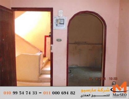 شقة للبيع فى شبين الكوم المنوفية البر الشرقى 100 م بالقرب من باز