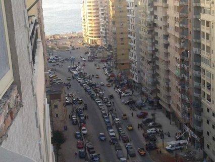 شقه 110 متر علي محمد نجيب مباشره فيو بحر روعه