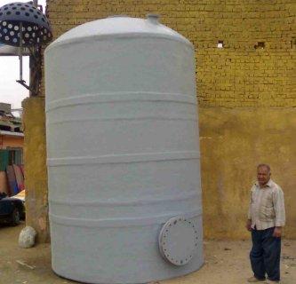 خزانات   فيبر جلاس   من  سعة   1متر   مكعب   حتي 100متر