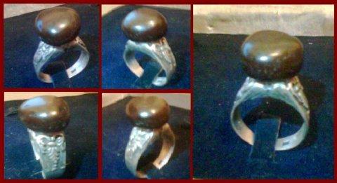 للبيع خاتم  من الياقوت كان يخص جماعة الكابالا اليهوديه