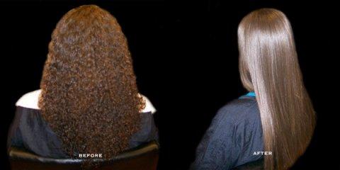 علاج الشعر بالبروتين والكيراتين